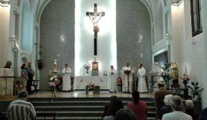 Visita del obispo de Camagüey a España